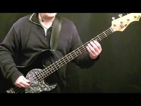 How To Play Bass Guitar to I Can't Stand Up - Elvis Costello - Bruce Thomas - Beginners Lesson