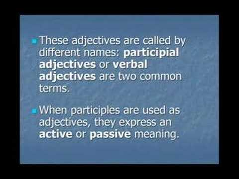"Lesson 5a "" -ING/ -ED adjectives"" Common Mistakes in English"