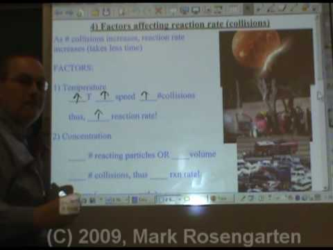 Chemistry Tutorial 9.01b:  Factors Affecting Reaction Rate