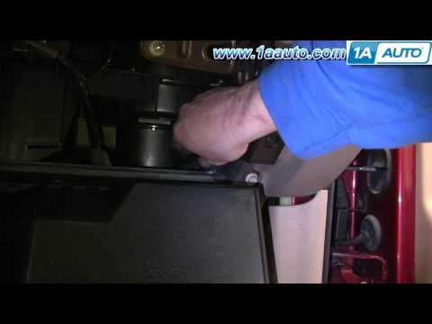 How To Install Replace Heater AC Fan Speed Control Resistor Chevy Trailblazer 02-09 1AAuto.com
