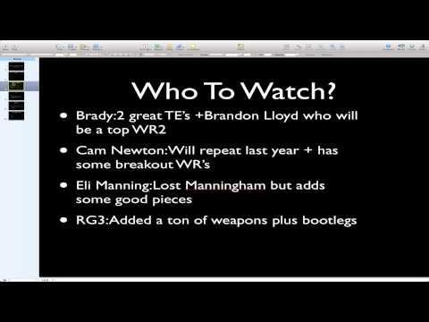 Fantasy Football Draft Strategy 2012-Quarterbacks