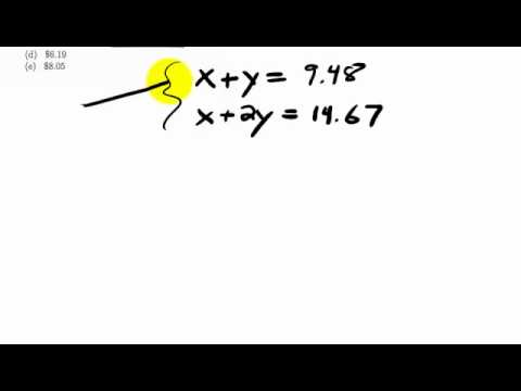 Math 101 Final Exam #33