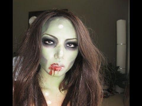 ZoOOOOOombie Make-up Tutorial !!!!