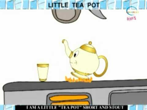 Rhymes and Alphabet - Little Tea Pot - Creative Learning for Kids