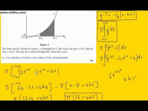 (Q6) Core 4 January 2011 Edexcel Past Paper