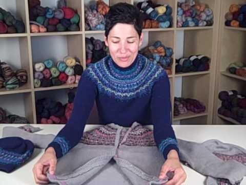 Designer Interview - Falling Stars Sweater Kit