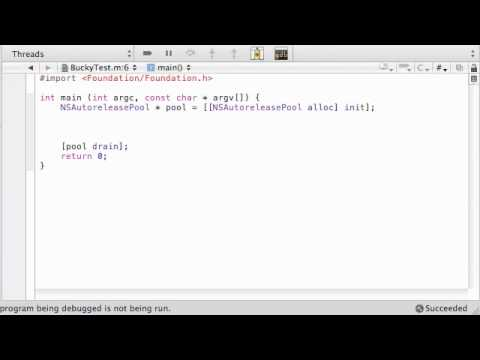 Objective C Programming Tutorial - 60 - Working with Files