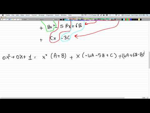Discrete Math 2 - Tutorial 20 - Finding Coefficients 4.1