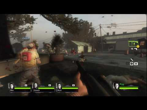 Left 4 Dead 2 Gameplay - 1 - Streets Beginning