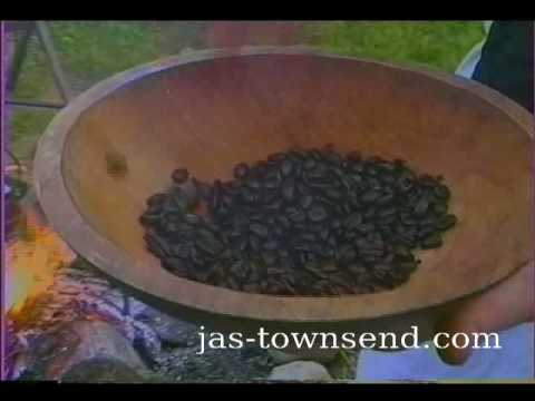 Roasting Green Coffee Beans