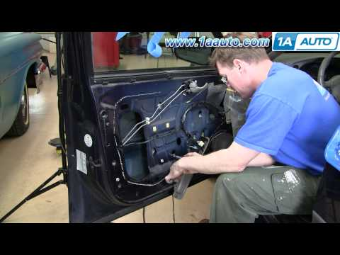 How To Install Repair Replace Power Window Motor Chevy Impala 00-05 1AAuto.com