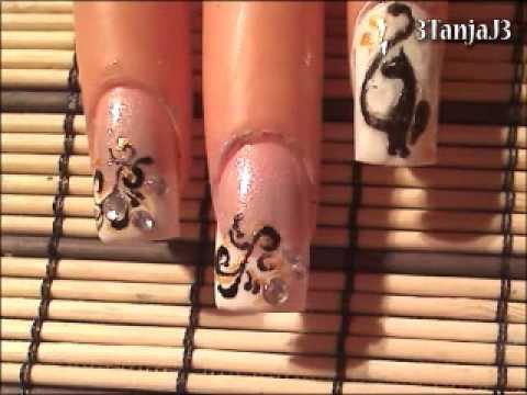 Designer inspired #5: *Baby Phat Nail Art Design*
