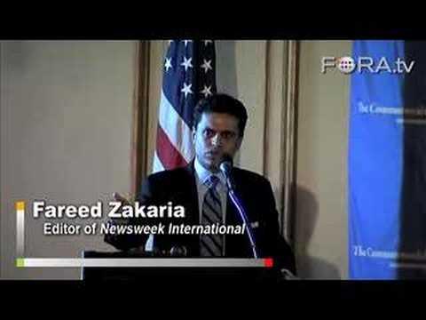 """America's """"Brain-Dead"""" Politics - Fareed Zakaria"""