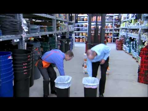 HDX Trash Bags Demonstration