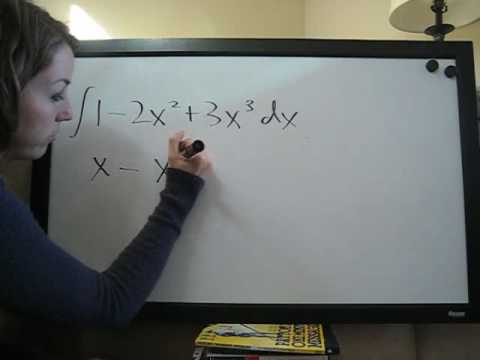 Indefinite Integrals Example 3
