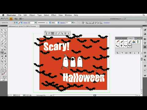Adobe Illustrator CS4 Advanced Use the Symbol Sprayer Tool
