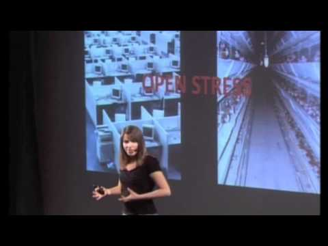 TEDx Paris Universités - Cécilia Durieu - Saving humans and their planet through distance working