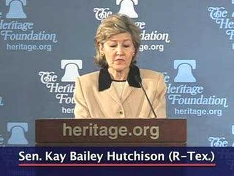 Sen. Hutchison on how the Constitution protects individual r