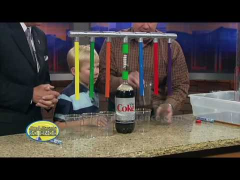 Mentos Geyser - Super Soda Dispenser 3000!