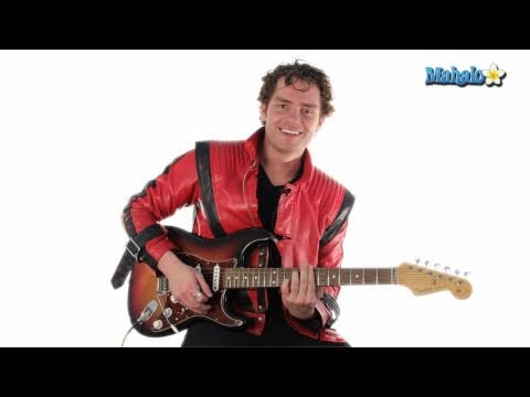 """How to Play """"Thriller"""" by Michael Jackson on Lead Guitar"""