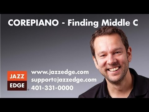 COREPIANO - Finding Middle C