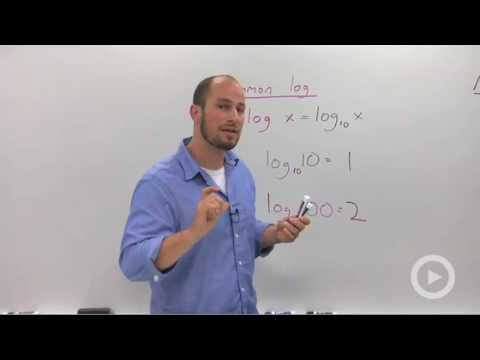 Algebra 2 - Common and Natural Logarithms