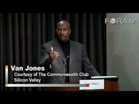 The Green Collar Economy - Van Jones