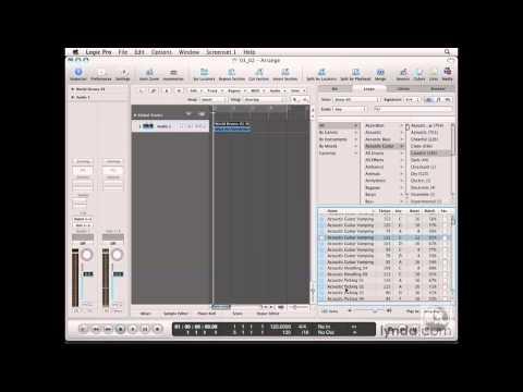 Logic Pro: Sorting Loops | lynda.com
