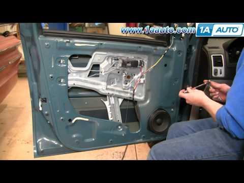 How To Install Replace Power Window Regulator Chevy Equinox 05-09 1AAuto.com