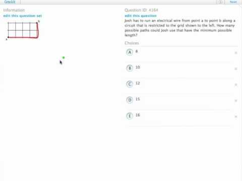 Grockit GMAT Quantitative - Problem Solving: Question 4164