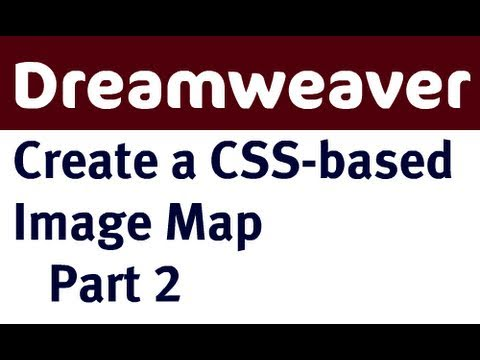 Create CSS-based Image Map in Dreamweaver (Part 2)