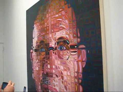 Chuck Close Selected Paintings and Tapestries at PACE/WILDENSTEIN