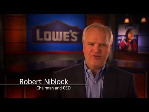 Lowe's Robert Niblock on Giving Back to Communities and Employees
