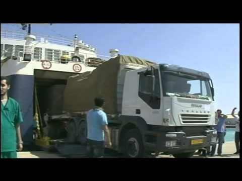 In Misrata Port, Ship Braves Shelling to Save Patients, Migrant Workers