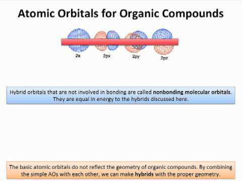 OChem 4 Hybridization: Atomic Orbitals for Organic Chemistry