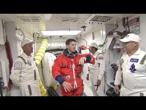 Atlantis Crew Rehearses Launch Countdown