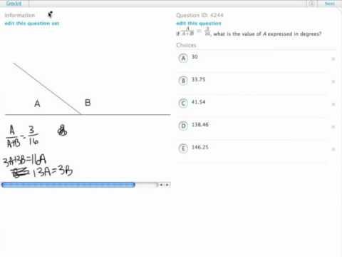 Grockit GMAT Quantitative - Problem Solving: Question 4244