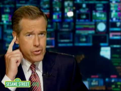 Sesame Street: Brian Williams: Squid