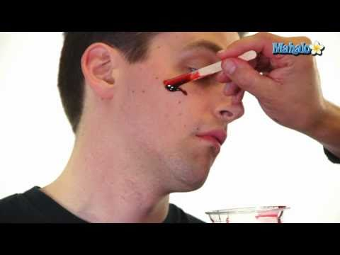 Zombie Makeup - How to Make Fake Blood