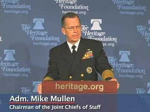 Adm. Mike Mullen Supports Gen. David Petraeus on Iraq