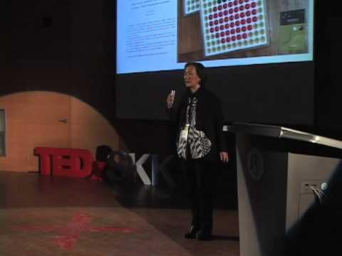 TEDxSKK_Dakyeom Lee: Colors via tactile sense; Five-Elements Art