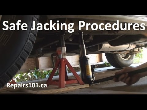 Auto: Safe Jacking Procedures