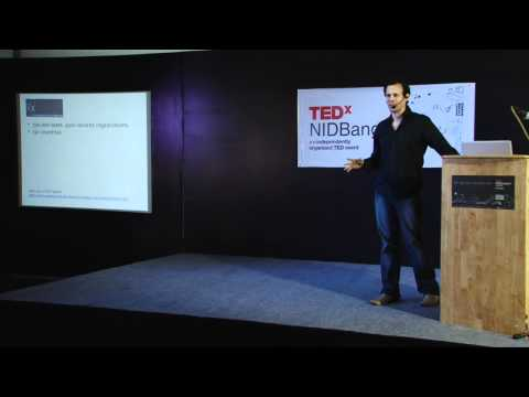 TEDxNIDBangalore - Sean Blagsvedt - The End of Privacy