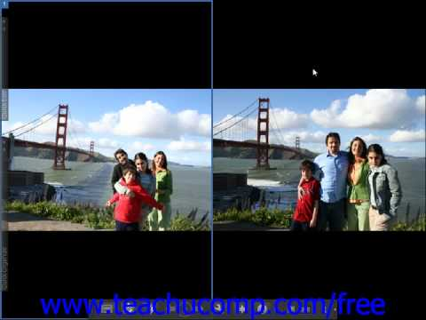 Photoshop Elements 9.0 Tutorial Comparing Images Adobe Training Lesson 2.5