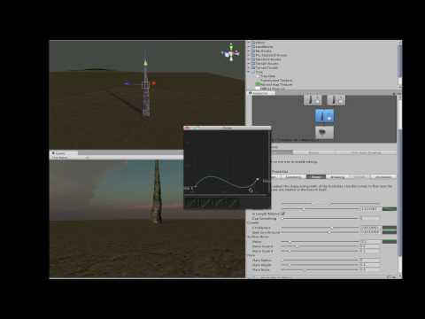 Unity 3 Beta 2 Tree Generator