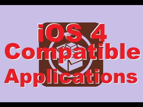 Which Cydia Applications Work on iOs 4 for iPod Touch & iPhone