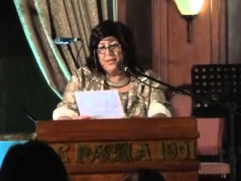 Raymonda Raif '91, director of alumni relations, welcomes alumni