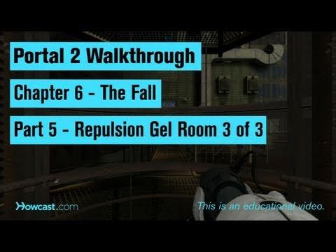 Portal 2 Walkthrough / Chapter 6 - Part 5: Repulsion Gel Room 3 of 3