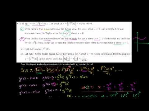 2011 Calculus BC Free Response #6b