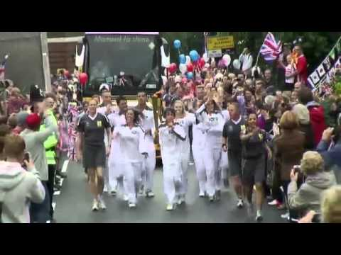 Olympic Torch Relay Day 49 Highlights - London 2012